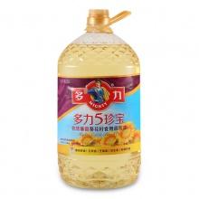 多力 5珍宝非转基因葵花籽食用调和油 5L 压榨