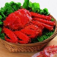 沪泽 智利帝王蟹 皇帝蟹大螃蟹 海鲜水产海蟹 500g*2只/盒 智利进口