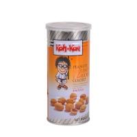大哥牌 虾味香酥花生豆 脆皮花生米鱼皮花生 休闲零食 230g/罐 泰国进口