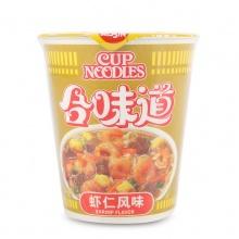 日清 合味道 虾仁风味面 82g/杯 方便速食