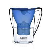 倍世(BWT)家用净水壶净水杯净水器滤水壶 蓝色 2.7升 蓝色 德国进口