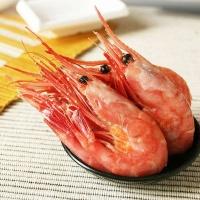 沪泽 俄罗斯北极甜虾2L 日料刺身海鲜水产食材 虾 1kg/盒 俄罗斯进口