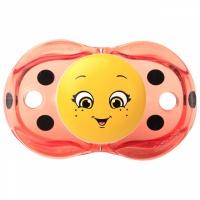 红莓宝贝(RaZbaby)瓢虫跌落自动闭合安抚奶嘴婴儿安慰奶嘴 0-36个月宝宝 自动闭合设计