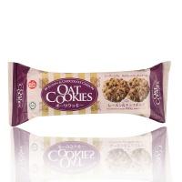 马来西亚进口 星七牌 葡萄干巧克力豆燕麦饼干 108g/袋