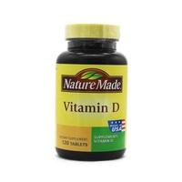 天维美(Nature Made) 维生素D片120粒 美国进口