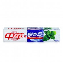 中华 健齿白清新薄荷味牙膏 155g