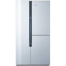 西门子(SIEMENS)KA96FS70TI 569升 零度多门三门版对开冰箱  独立零度保鲜 白色磨砂点玻璃门